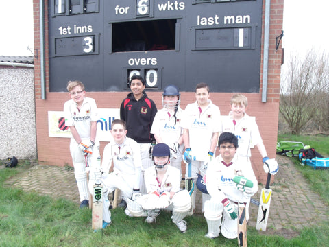 Mickleover Cricket Club young cricketers are ready for a 'Great Northern Run'