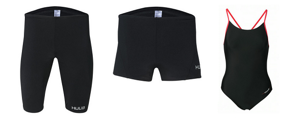 Sleek Black swimwear for those who prefer a more conservative swimming costume!