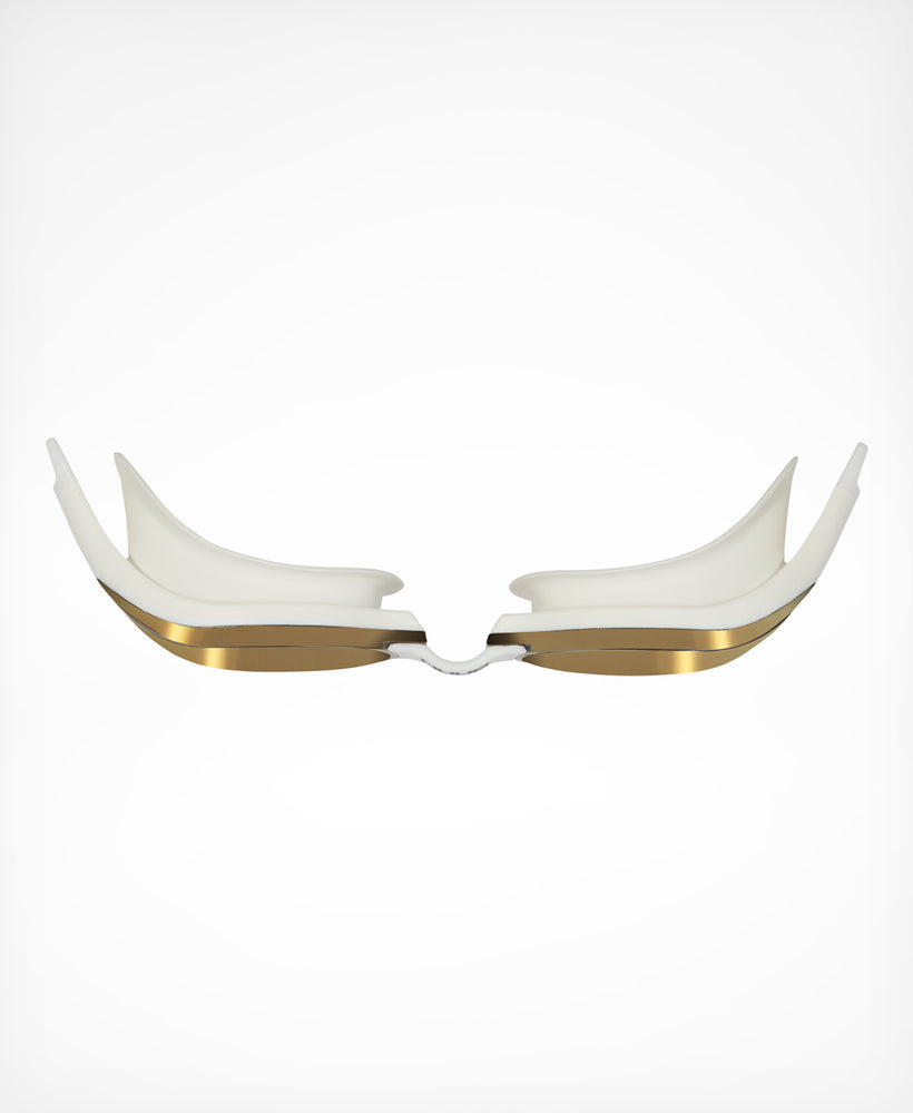 Brownlee Acute Swim Goggle - White/Gold