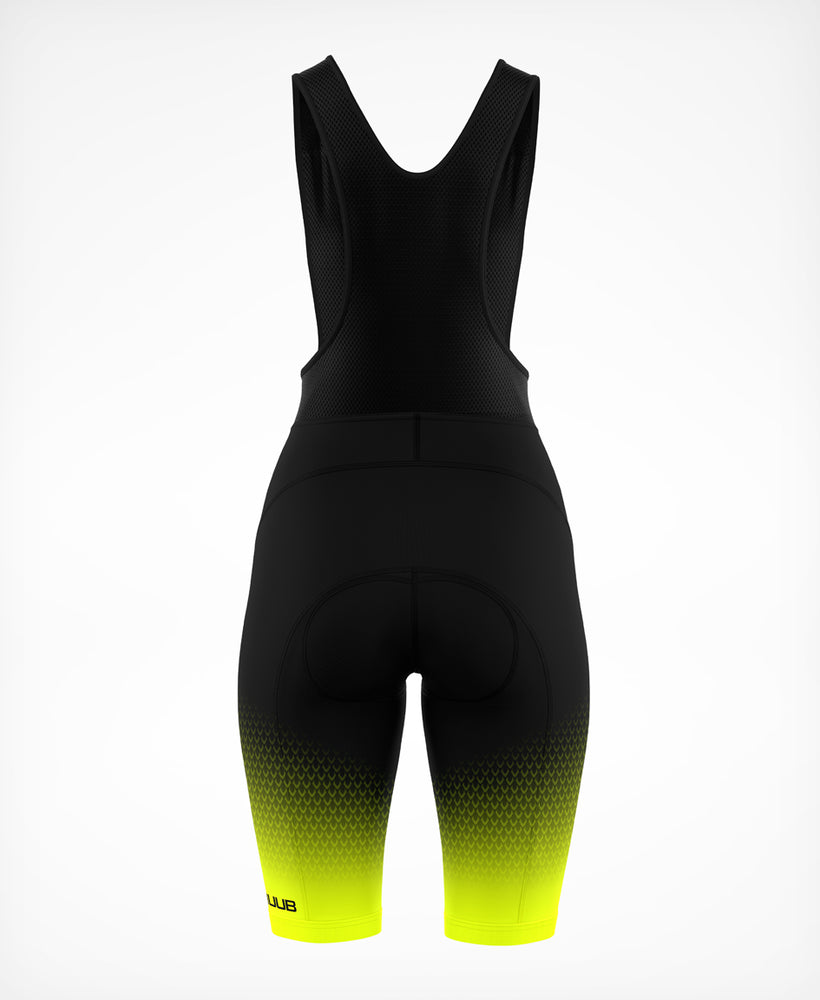 Archimedes Bib Short Yellow - Womens