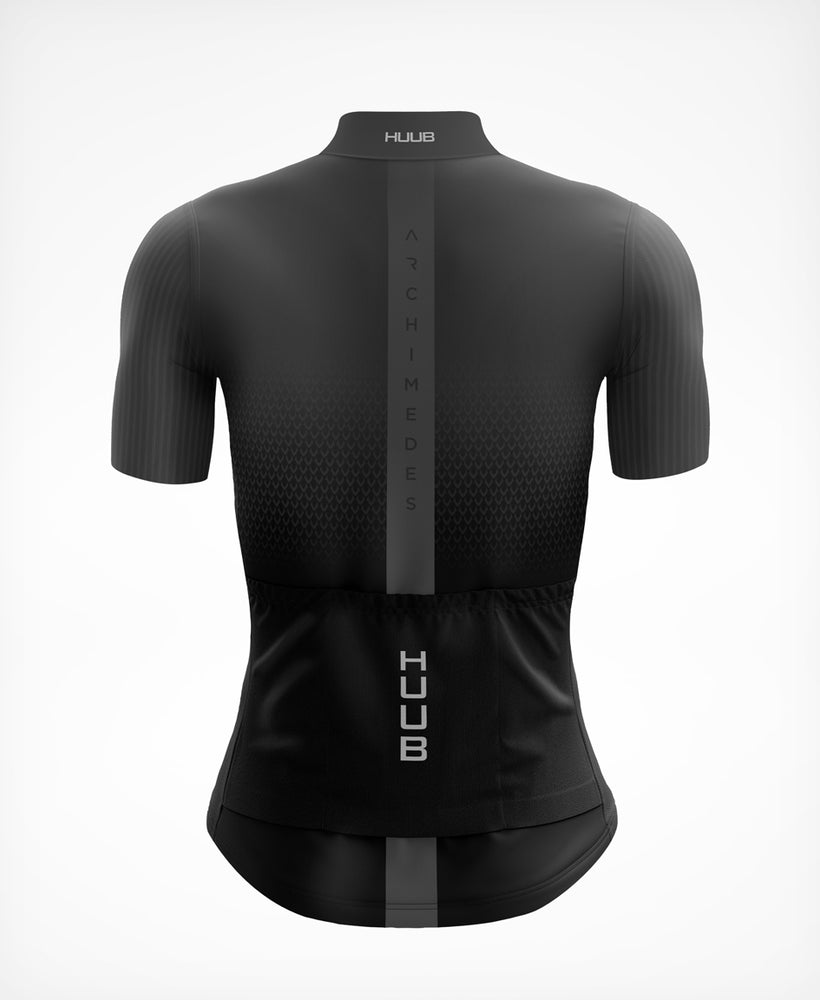 Archimedes Short Sleeve Cycle Jersey Charcoal - Womens