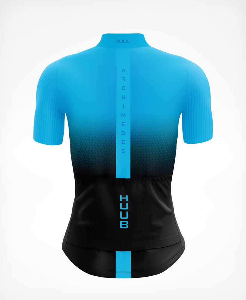 Archimedes Short Sleeve Cycle Jersey Blue - Womens