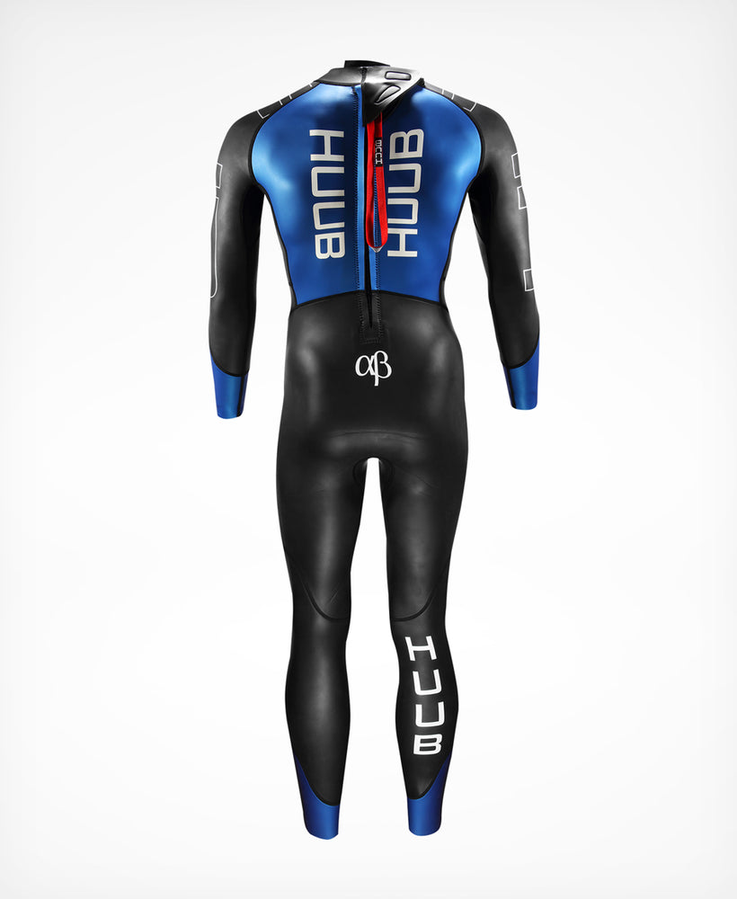 Alpha-Beta Blue Wetsuit - Men's