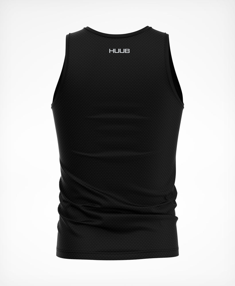 Essential Sleeveless Tech Baselayer - Black