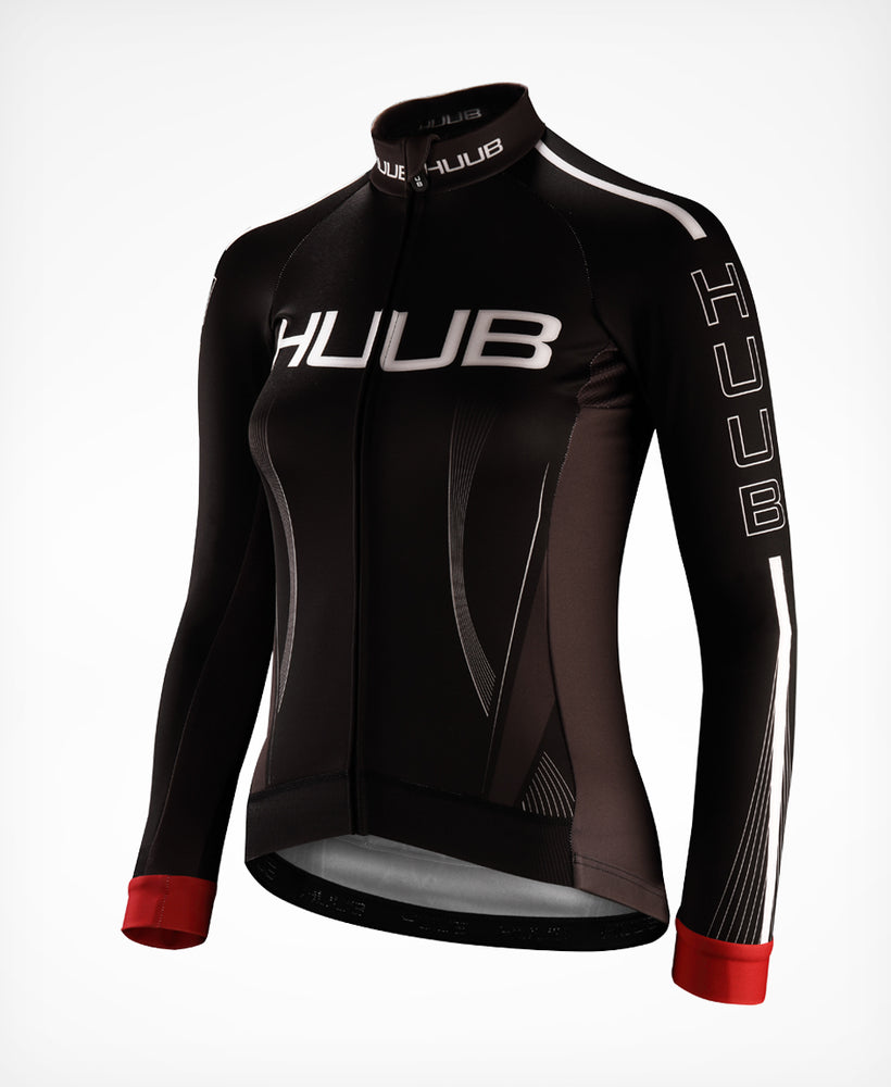 Core Cycle Jersey Long Sleeve Thermal - Womens