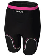 HUUB Core Triathlon Shorts - Womens Black/Pink