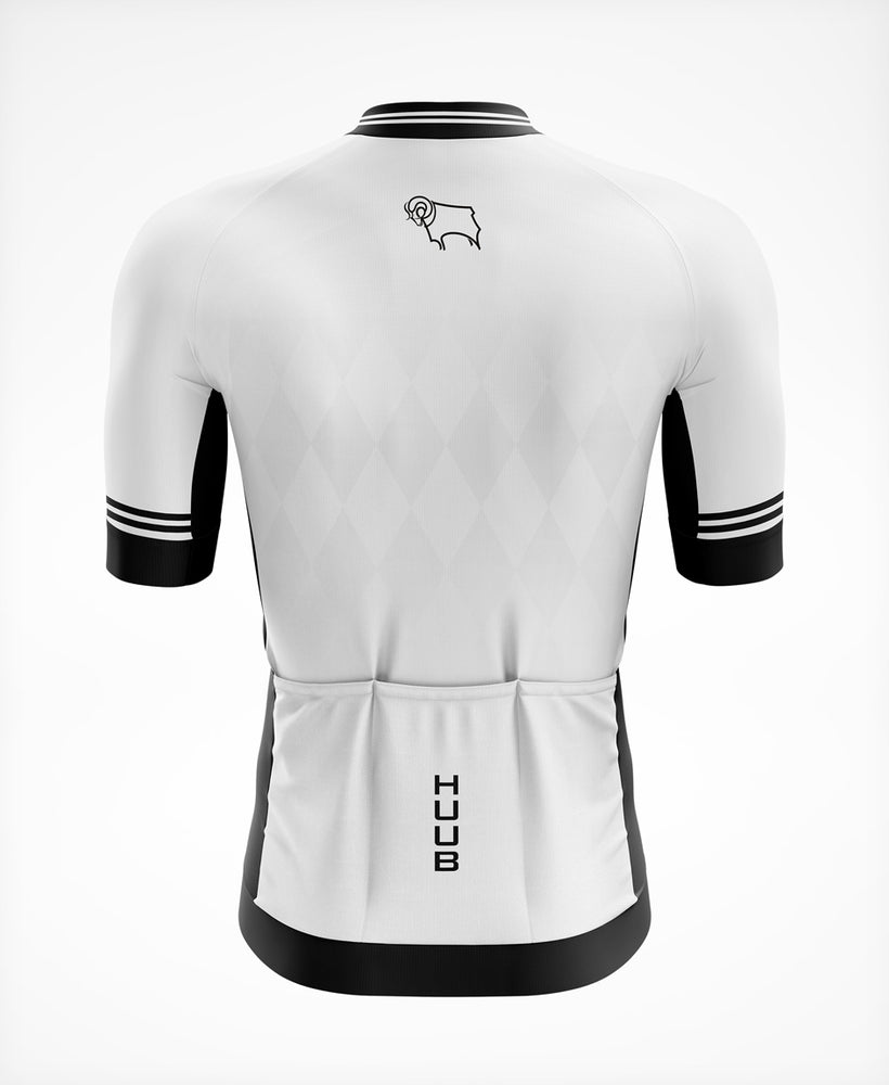 Derby County Short Sleeve Cycle Jersey - Mens