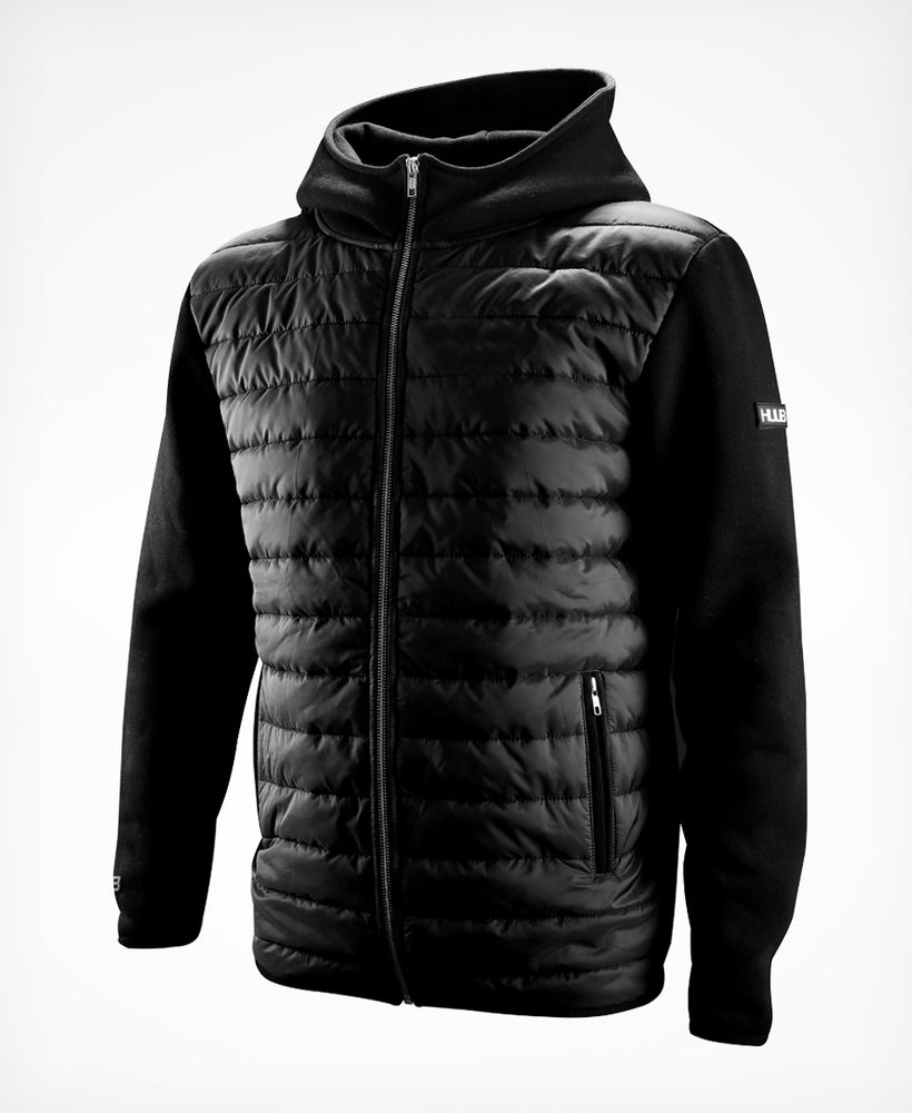 Fleece Quilted Jacket