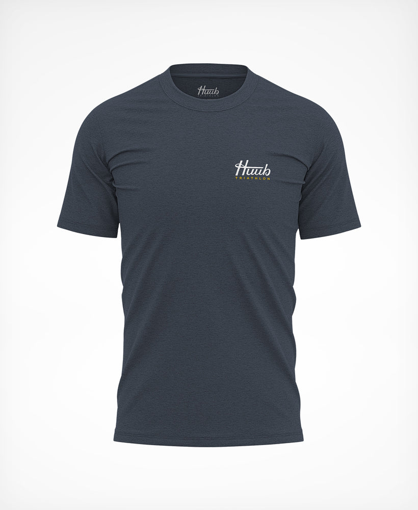 Dutch Neoprene Club T-Shirt Steel Blue