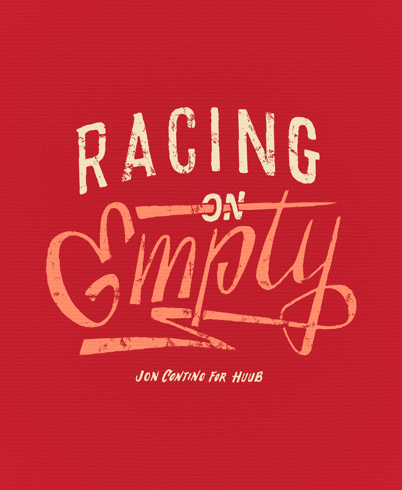 Racing On Empty T-Shirt Red