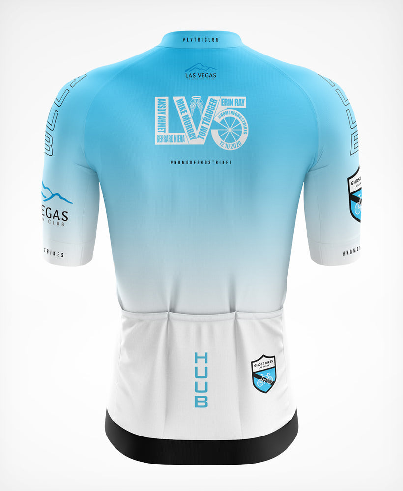 LV5 Ghost Bikes Short Sleeve Cycle Jersey