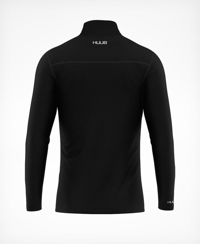 Merino Long Sleeve Half Zip Top