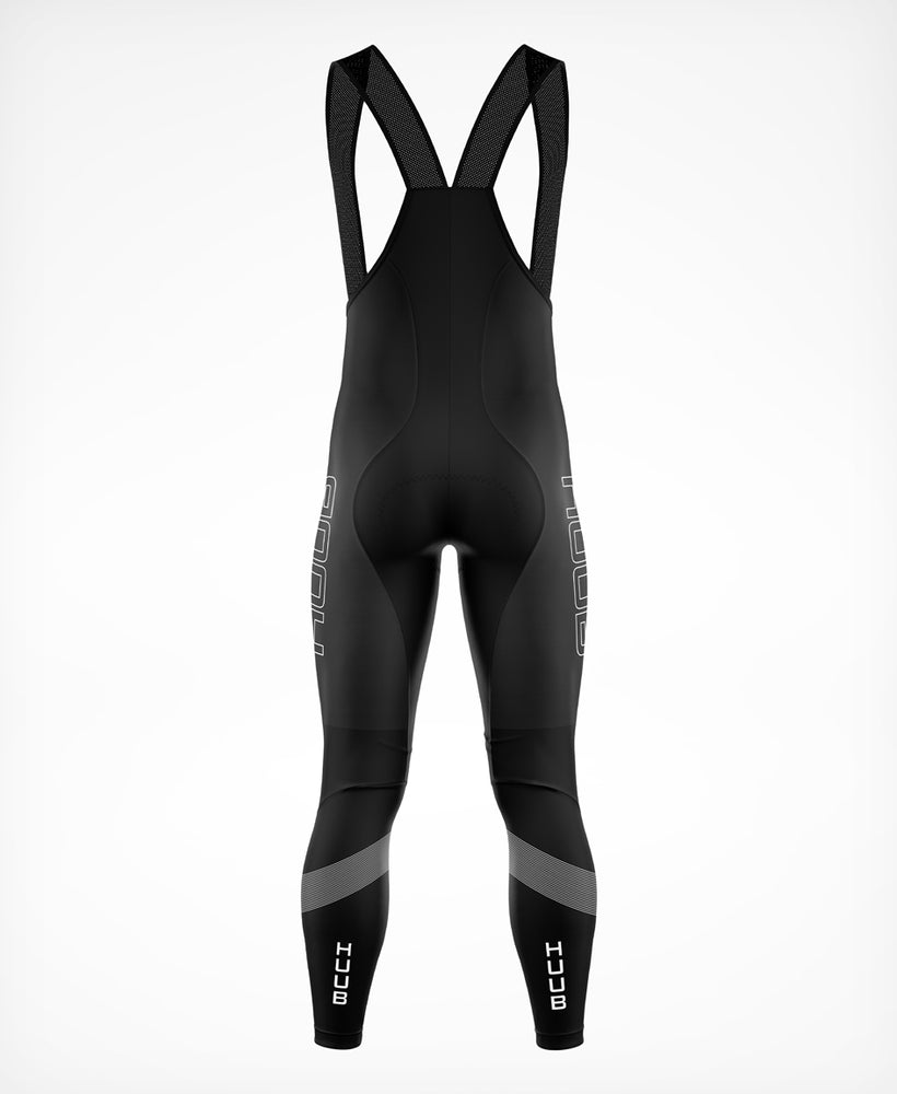 Peaks Cycling Thermal Bib Tights Black - Mens
