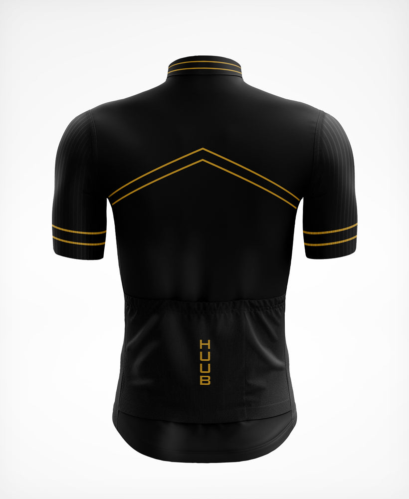 Chevron Jersey Black / Gold - Mens