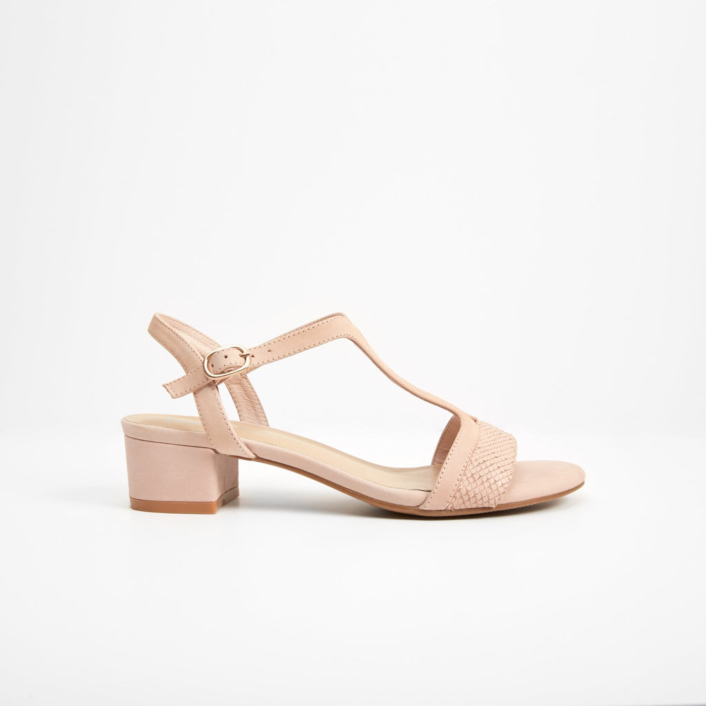 EUNICE JACKSON MEDIUM HEELED SANDALS EDIE