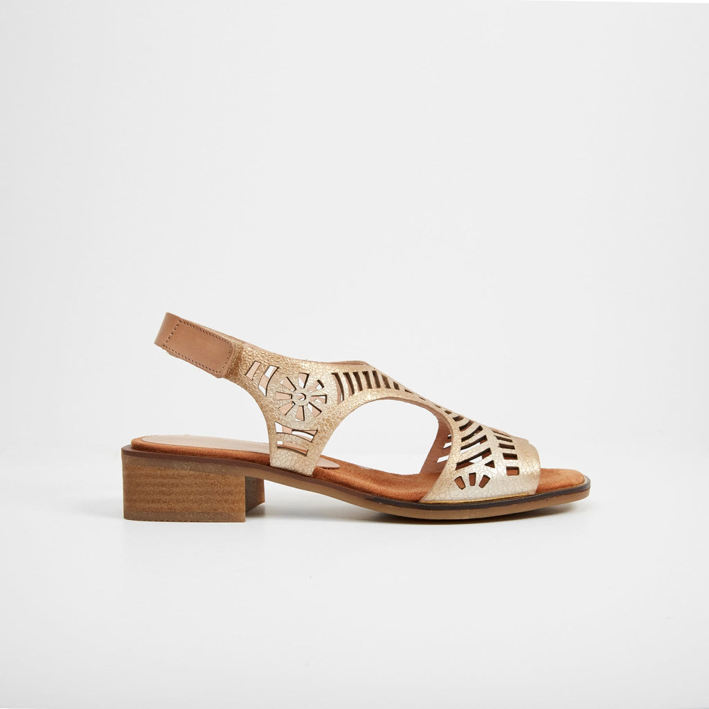 HISPANITAS LOW HEELED SANDALS STEVIE