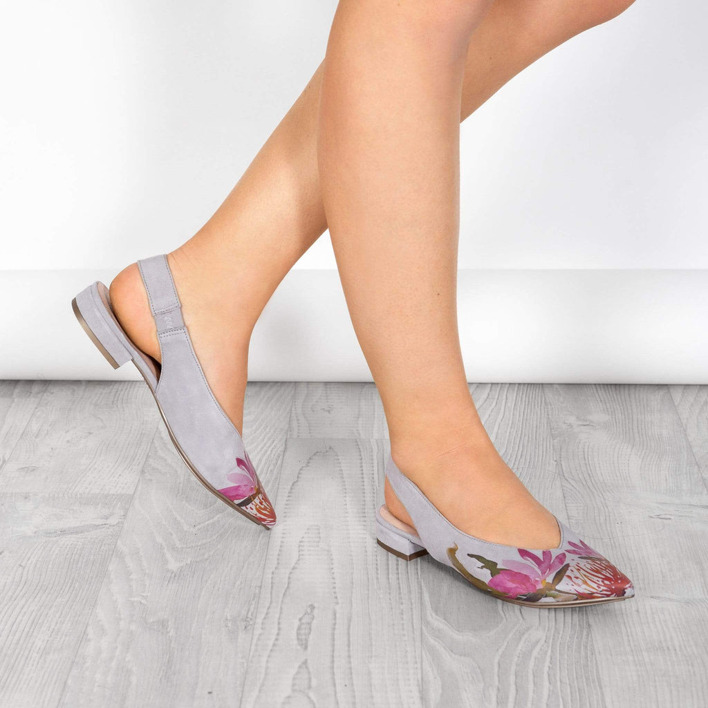 HISPANITAS SLING BACKS - LOW SURIYA