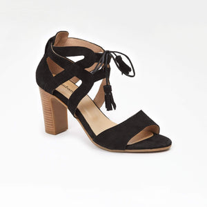 LOMBARDO HIGH HEELED SANDALS LUXE
