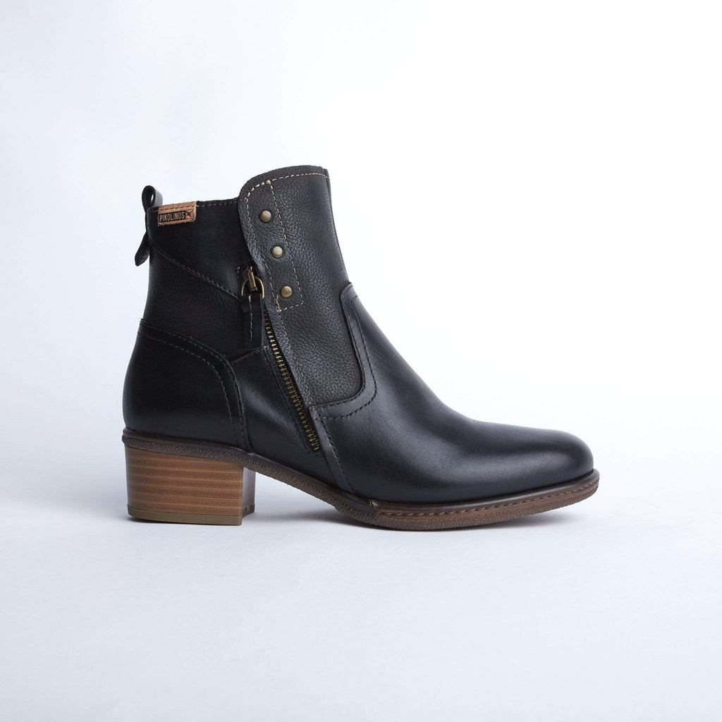 PIKOLINOS MEDIUM HEELED ANKLE BOOTS 8704