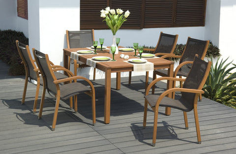 SCAN1012 - Ensemble repas BRAMLEY 7pc Dining Set