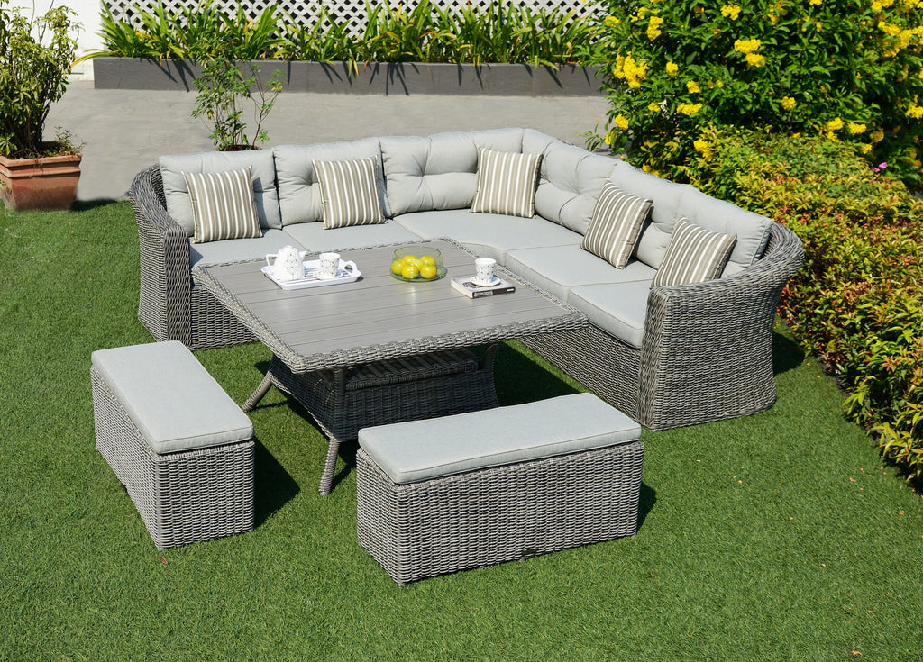 SCAN1031 - BORACAY - 6pc Seating Set / Ensemble modulaire 6pc
