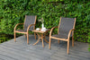 Ensemble bistro BRAMLEY 3pc Bistro Set