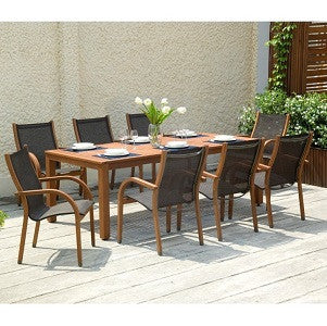 SCAN1013 - Ensemble repas BRAMLEY 9pc Dining Set