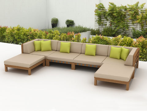 SCAN1015 - Ensemble jardin DERBYSHIRE 6pc Seating Set