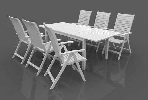 SCAN1060 - RICHFIELD - 7pc Dining Set / Ensemble Repas 7pc