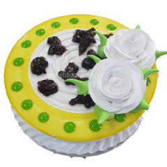 Blue Berry Cake 2 Flowers - C050