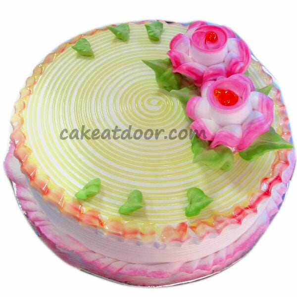 2 Flowers Pineapple cake - C084