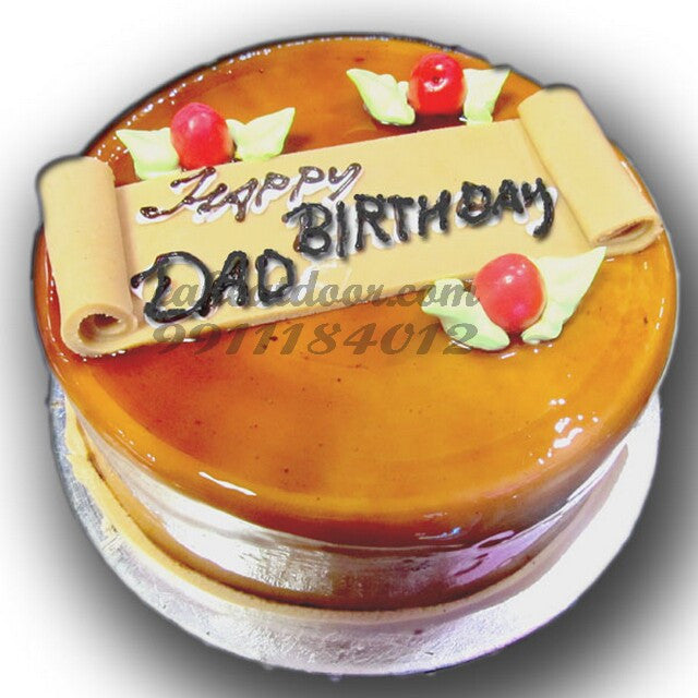 Dad Birthday Special Butter Scotch Cake