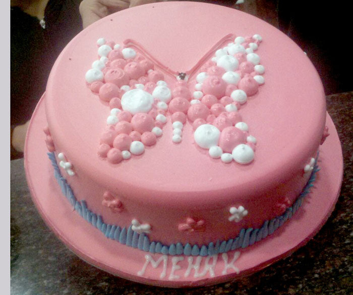 A special Butterfly Cake - C131
