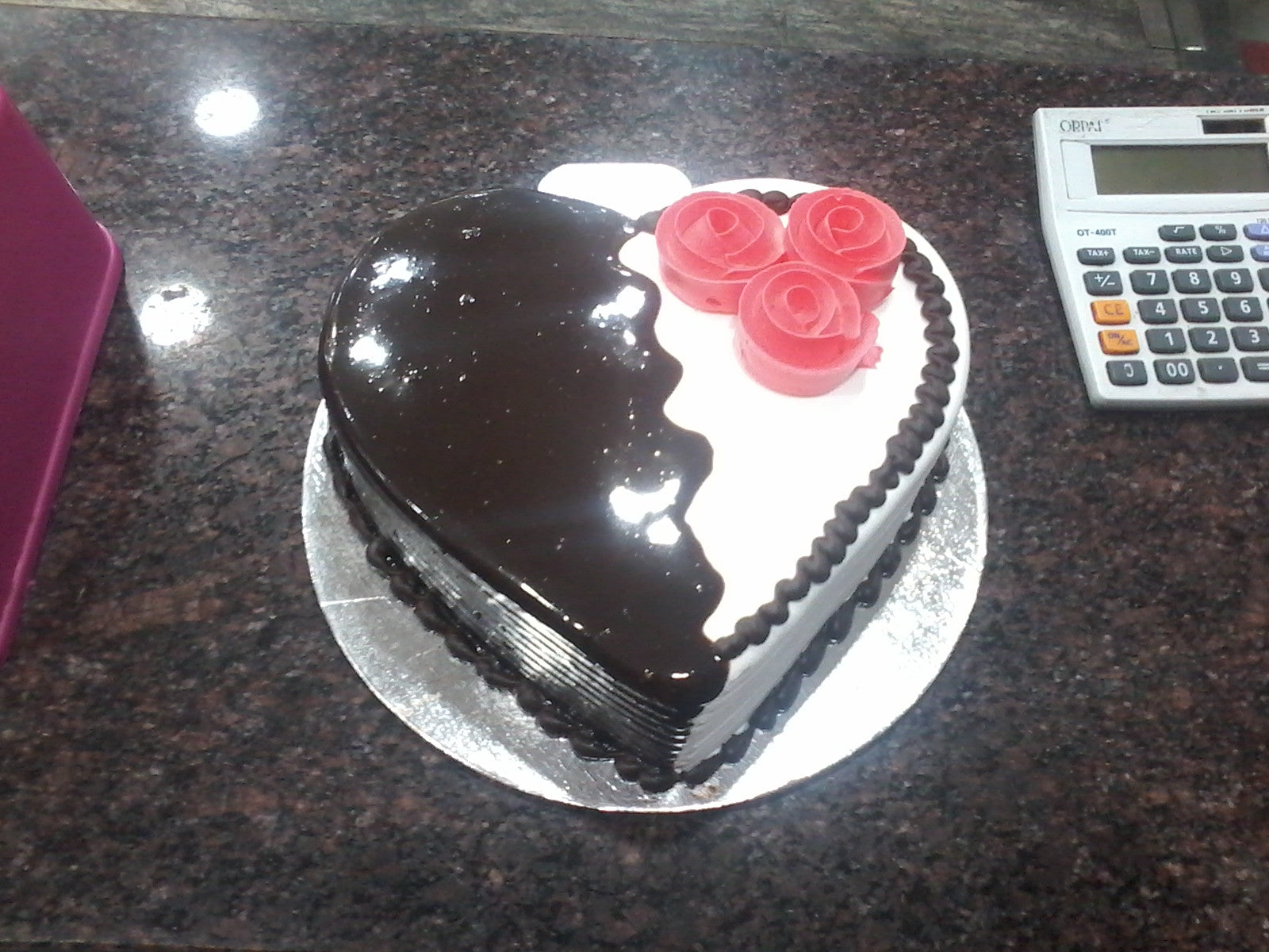Heart Shape Double Love Cake - C141
