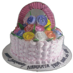Cake Basket with Full of Love - C095
