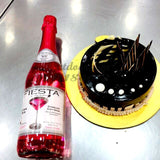 Open with Love Combo of Fiesta Juice and Cake - Combo19