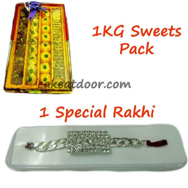 Rakhi and Sweets Pack - RC002