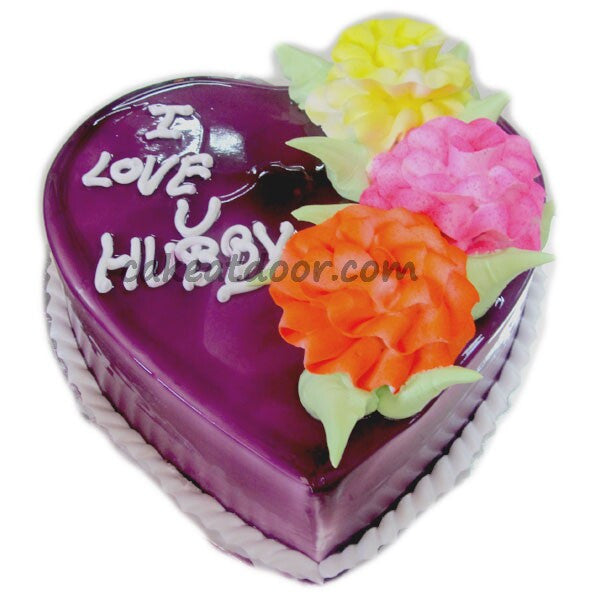 Heart Shape Blue Berry for your Love - C073