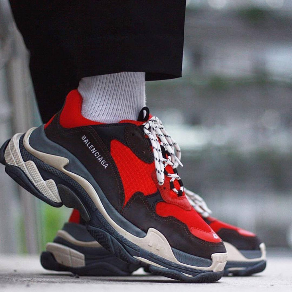 Balenciaga Triple S 2018ss Red/Black
