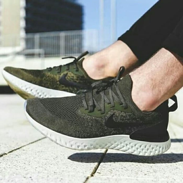 Nike Epic React Flyknit Olive Green