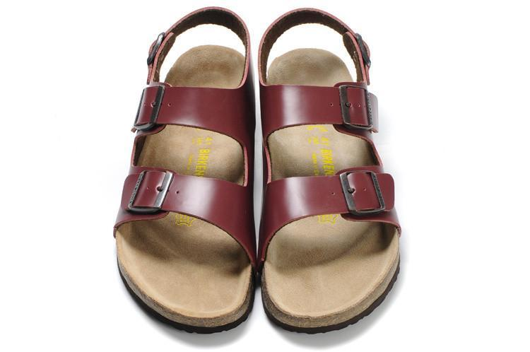 Birkenstock Milano Wine Red