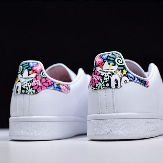 "AD Stan Smith W ""White-Blue/Pink"""