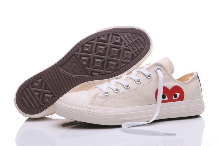 PLAY x Converse Chuck Taylor- 'Hidden Heart' White