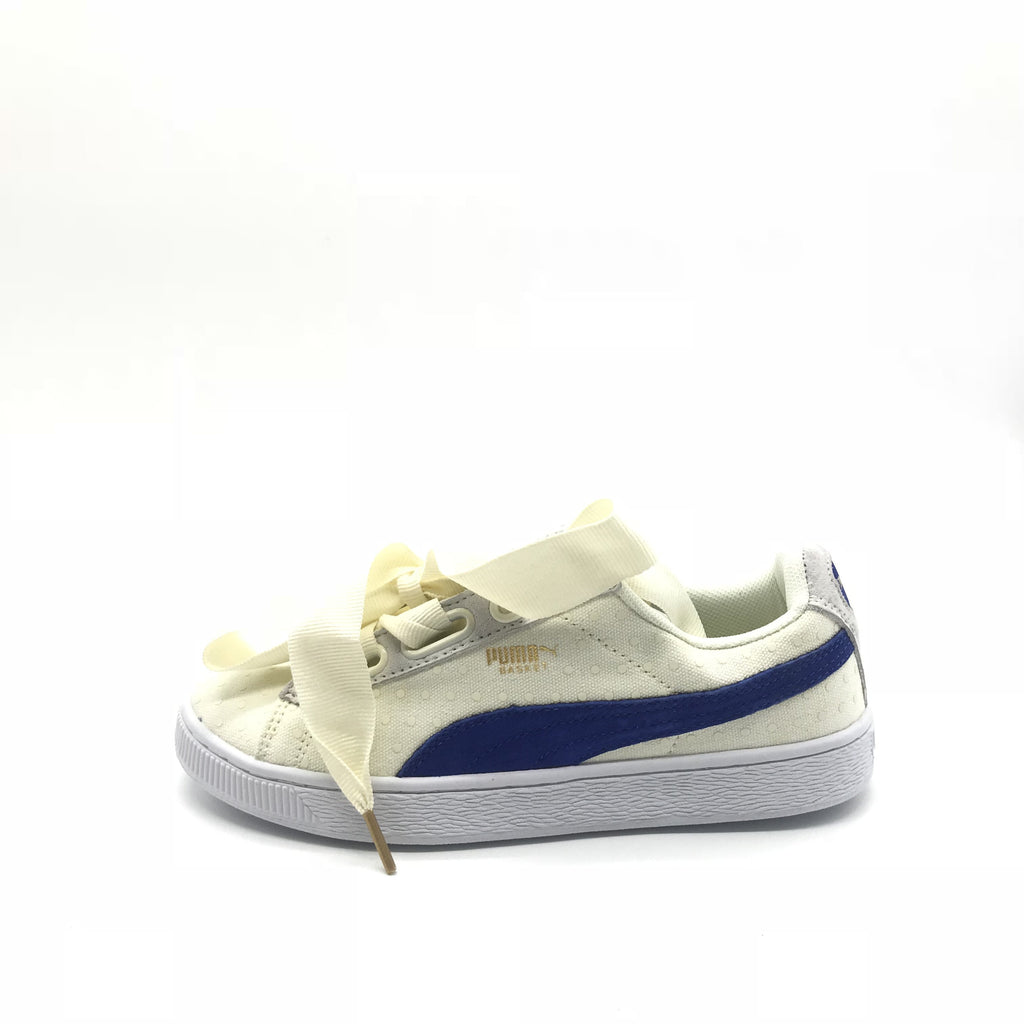 PUMA Basket Heart Denim Oatmeal / Twilight Blue - Euro 38