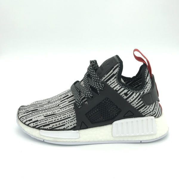"NMD XR1 Glitch Pack ""White/Black/Orange""- Euro 36"