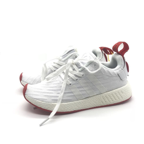 NMD R2 Primeknit 'Footwear White/Core Red' (ORIGINAL Boost) - Euro 36