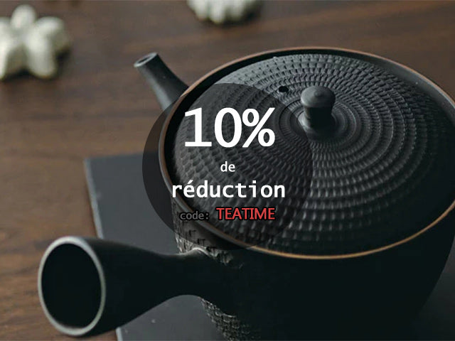 10% de réduction ce week-end!