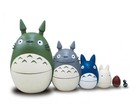 Figurines Totoro Matriochka