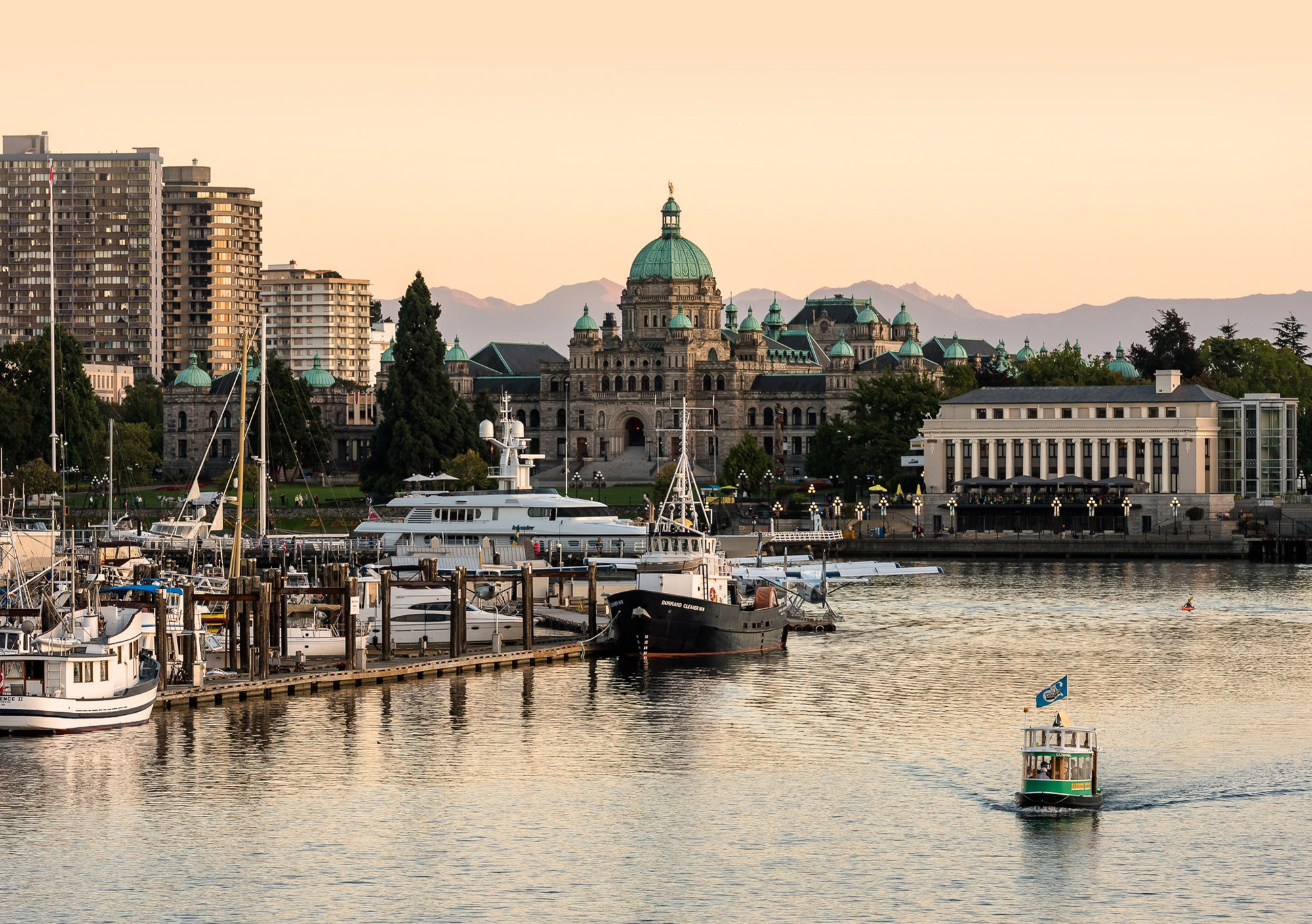 Vancouver Island and Victoria