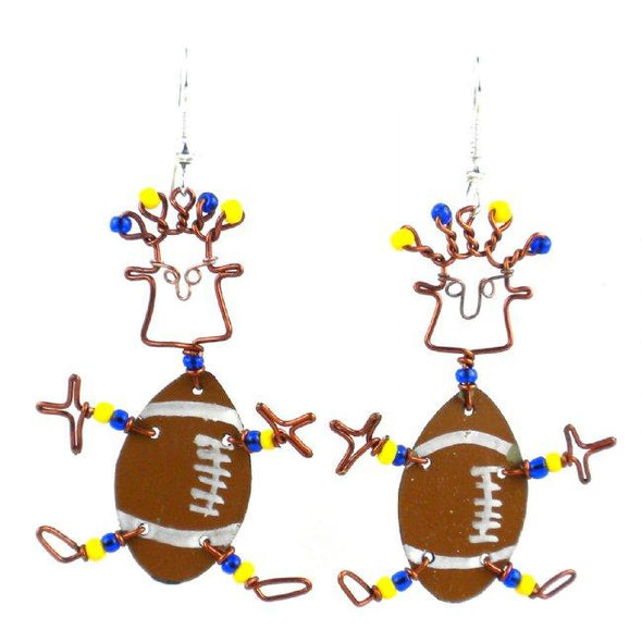 Handmade Sports Earrings